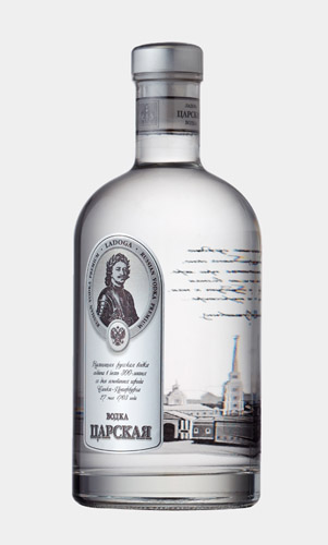 Imperial Design vodka láhev 0,5 l