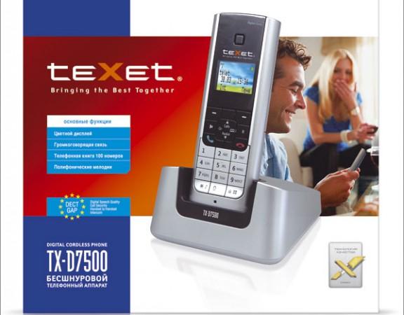 Дизайн упаковки линейки телефонов TEXET