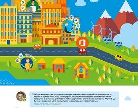 Рекламная кампания Microsoft Office 2016, плакат, листовка, майкрасофт, офис