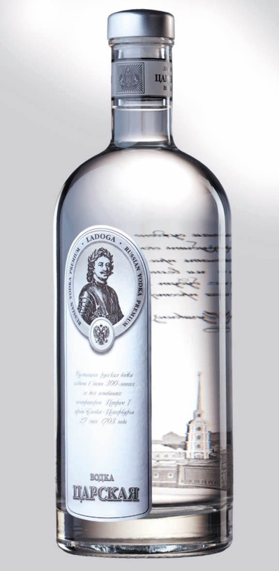 Imperial Design vodka láhev 1 l